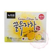 韓國 Nokcbawon 綠茶園蜂蜜柚子茶(30g*15)【庫奇小舖】