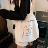 帆布袋 素色 塗鴉 插畫 手提包 帆布袋 單肩包 購物袋--手提/單肩【SP97281】 ENTER  08/29