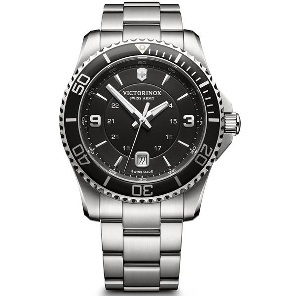 VICTORINOX SWISS ARMY瑞士維氏Maverick Large腕錶  VISA-241697 黑色