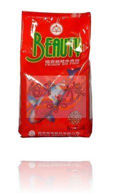 {台中水族} 福壽錦鯉魚飼料(1kg) --紅小粒  特價