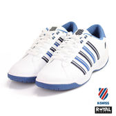 K-SWISS 新竹皇家 Eadall II 白/藍色 皮質  紋路 休閒鞋 男款 NO.A9615