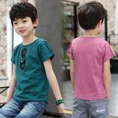 男童夏裝兒童裝短袖t恤夏季大童男孩小孩體恤半袖上衣 奇思妙想屋