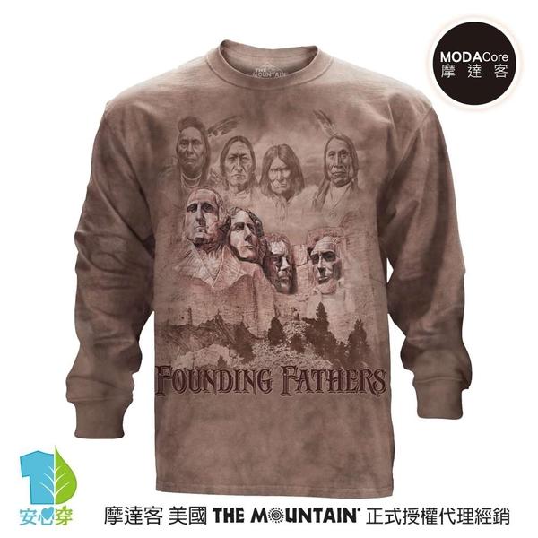 摩達客-(預購)美國進口The Mountain 拓荒者 純棉長袖T恤