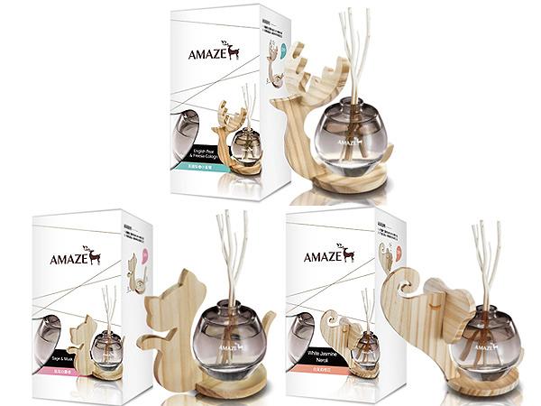 Amaze 森林擴香 (90ml) 英國梨與小蒼蘭/鼠尾白麝香/白茉莉橙花 香竹 芳香劑 薰香器