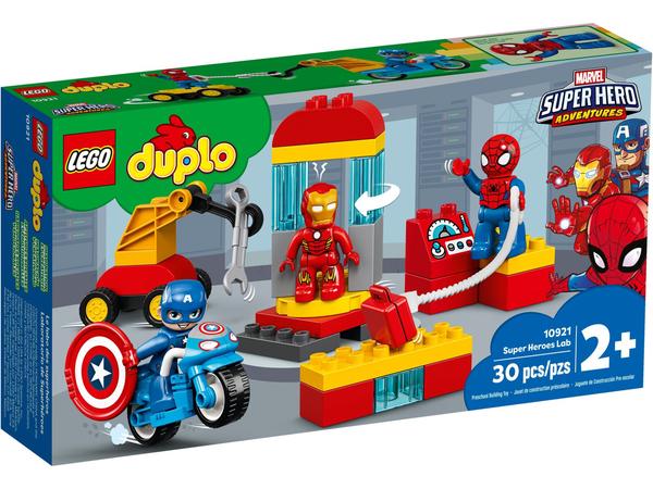 【愛吾兒】LEGO 樂高 duplo得寶系列 10921 超級英雄實驗室