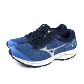 美津濃 Mizuno WAVE RIDER TT 運動鞋 跑ˋ鞋 藍色 男鞋 J1GC193239 no076