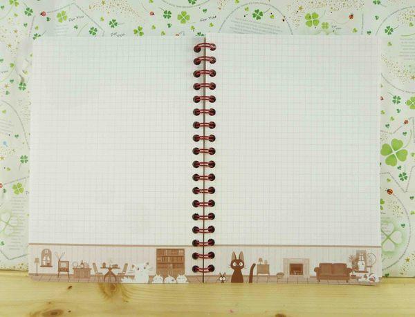 【震撼精品百貨】魔女の宅急便_魔女宅急便~線圈筆記本-窗戶圖案