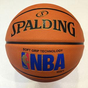 (AY)【SPALDING】斯伯丁籃球  7號球  NBA SGT 深溝柔軟膠  專業橘   SPA83192【陽光樂活】