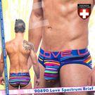 美國Andrew Christian 90890 Love Spectrum Brief 愛的光譜極簡型三角褲