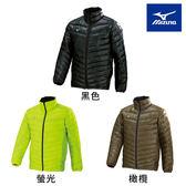 Mizuno 美津濃 防潑水化纖保暖夾克 男款 黑 螢光 橄欖 Techfill保暖纖維 立領外套 32ME7635 09 31 35