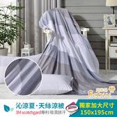 【Betrise暮眷灰】3M吸濕排汗專利天絲鋪棉涼被一入 5X6.5尺