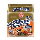 韓國不倒翁金拉麵原味 120G x5【愛買】