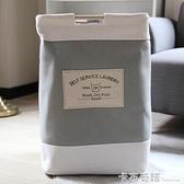 加厚棉麻臟衣籃臟衣桶 玩具衣服收納籃臟衣簍收納筐大號 卡布奇諾