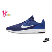 NIKE DOWNSHIFTER 9 成人男款 透氣輕盈 運動鞋 慢跑鞋 P7133#藍色◆OSOME奧森鞋業