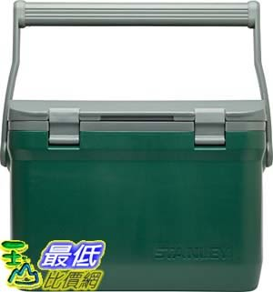 [106美國直購] Stanley 4002755-P (7 Qt) 綠色 Adventure Cooler 可提式保溫冰桶 保冷箱