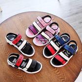 男童鞋涼鞋韓版中大童小孩學生寶寶鞋女童鞋兒童沙灘鞋 俏腳丫