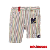 MIKI HOUSE 大M字母休閒短褲(多色)