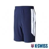 K-SWISS Woven Shorts 2運動短褲-男-藍
