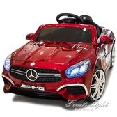 兒童電動車四輪汽車帶遙控可坐寶寶搖擺童車小孩玩具車可坐人【果果精品】NMS