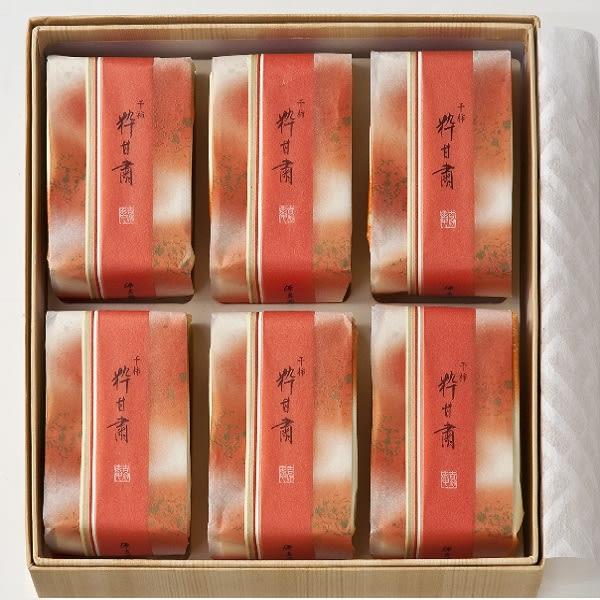 源吉兆庵   粋甘粛6入禮盒 (柿子乾)