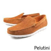 【Pelutini】素面經典休閒鞋 復古棕(7812-BRS)