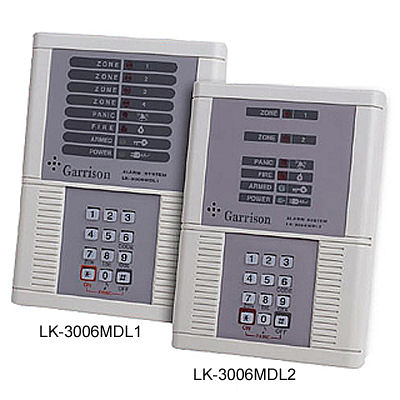 Garrison防盜器材 批發中心 門禁警報.瓦斯防盜主機 微電腦控制主機LK-3006MDL1