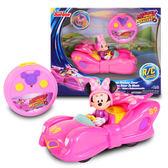 《 迪士尼 DISNEY 》米妮粉紅雷霆遙控車 Minnie Transforming RC ╭★ JOYBUS玩具百貨