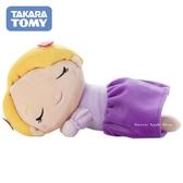 日本限定 TAKARA TOMY A.R.T.S 迪士尼公主系列 長髮公主/樂佩公主  睡眠版 玩偶娃娃 (S)