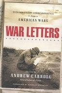 二手書博民逛書店《War Letters: Extraordinary Correspondence from American Wars》 R2Y ISBN:0743202945