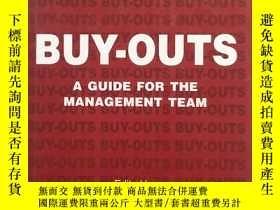二手書博民逛書店buy-outs罕見a guide for the manage