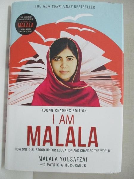 【書寶二手書T1/動植物_DFO】I Am Malala: How One Girl Stood Up for Education…