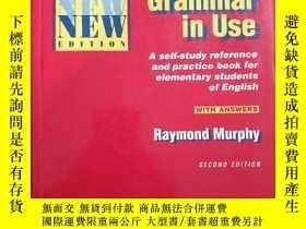二手書博民逛書店Essential罕見Grammar in Use-A self