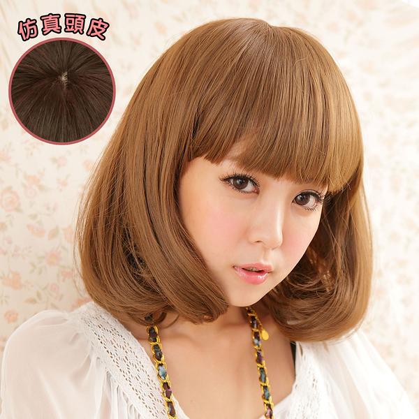 韓劇女主角 空氣薄瀏海 超美 耐熱 短髮 假髮【MB014】☆雙兒網☆