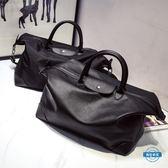 旅行袋簡約旅行包大容量手提包旅行袋行李包健身運動女包餃子包
