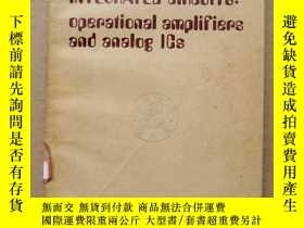 二手書博民逛書店manual罕見of linear integrated circuits:operational amplifi