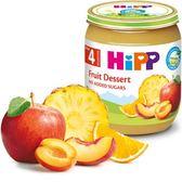 Hipp 喜寶-有 機綜合水果泥 125gx 6罐 450元