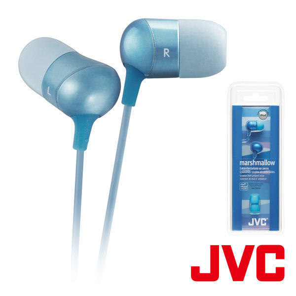 JVC 立體聲耳塞式耳機 HA-FX35-A【福利品】