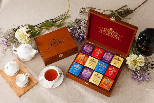 唐寧茶【Twinings】純情木思皇家禮盒6格 (48茶袋)