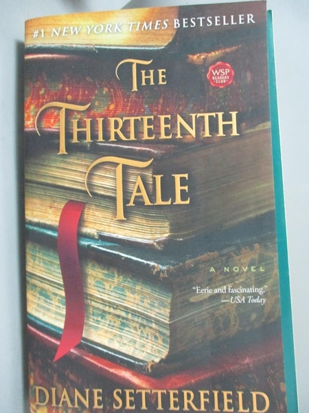 【書寶二手書T6/原文小說_OPE】The Thirteenth Tale_Setterfield, Diane