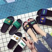 涼拖鞋女夏室內洗澡韓國居家用情侶防滑新款浴室兒童可愛拖鞋