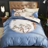 床包組 全棉四件套純棉1.8m床1.5雙人床上用品夏季床單被套