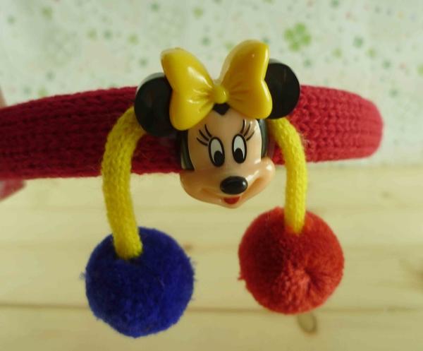 【震撼精品百貨】Micky Mouse_米奇/米妮 ~造型髮箍-紅毛球