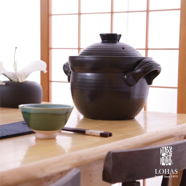 陸寶陶鍋 和風雙層蓋陶鍋 3號 4.6L