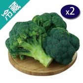 台灣青花菜(200G±5%/顆)X2【愛買冷藏】