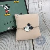 BRAND楓月 GUCCI 古馳 609688 米老鼠 迪士尼聯名 純銀 珠鍊 手鍊 手環 飾品