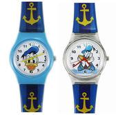 【卡漫城】 卡通錶 唐老鴨 兩款選一 藍色錶帶 ㊣版 膠錶 兒童錶 迪士尼 女錶 Donald 手錶 水手 船錨