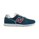 New Balance 男鞋 藍紅 休閒鞋 復古 麂皮 基本款 簡約 舒適 穿搭 ML373EC2 D