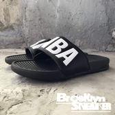 創信 黑白 黑白 NBA大logo 拖鞋 男  (布魯克林) 2018/7月  8661101900