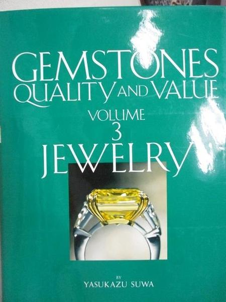 【書寶二手書T1/收藏_YHI】Gemstones Quality and Value_Vol.3