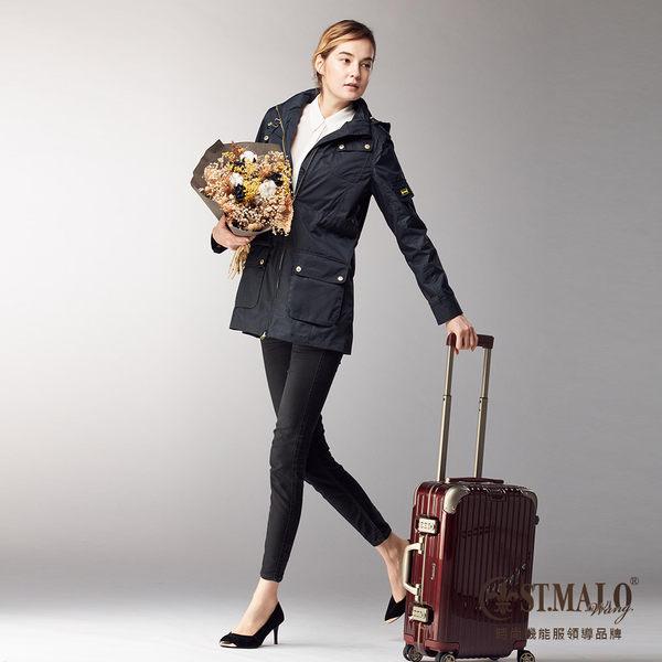 【ST.MALO】微城風起輕暖外套-1708WJ-深丈青